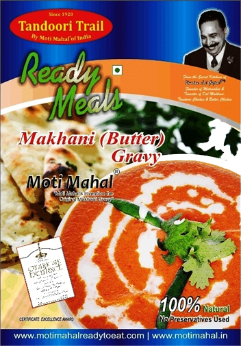 Ready Meals – Makhani (Butter) Gravy
