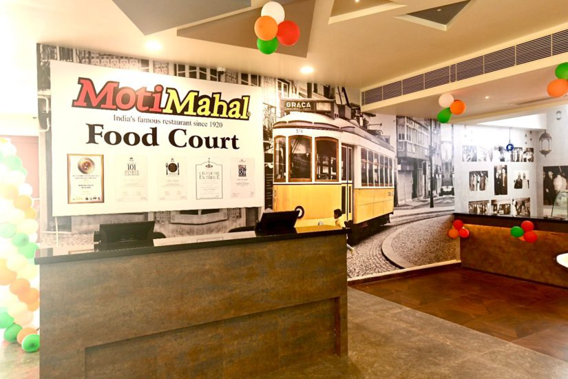 moti mahal food court by monish Gujral